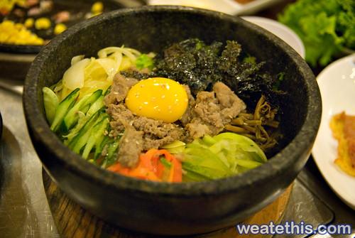 Woo Ga Chon - Korean BBQ Restaurant - Bibimbap