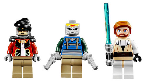 LEGO Star Wars 7753 Pirate Tank minifigs