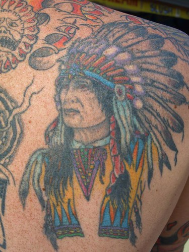 indian tattoos. Indian Chief Tattoo