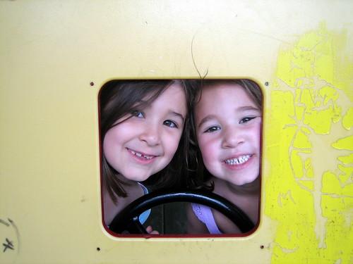 Ellie and Hayley April 2009