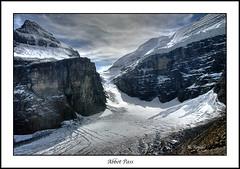 Abbot Pass (Maclobster) Tags: mountain lake rockies pass glacier louise crevasse abbot icefall icecliff vosplusbellesphotos keithgrajala