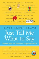 """Just Tell Me What to Say"" by Betsy Brown Braun"