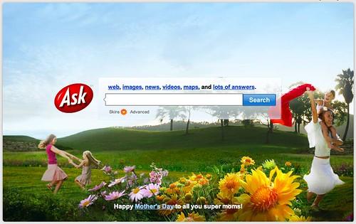 Mothers' Day Logo via Ask.com