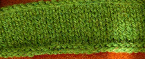 Peace Fleece swatch