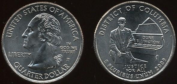 20 centov Kanada 2009 District of Columbia
