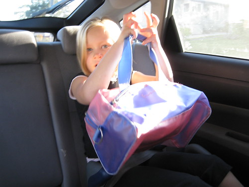 Christy on way to dancing