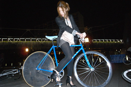aja and my bike