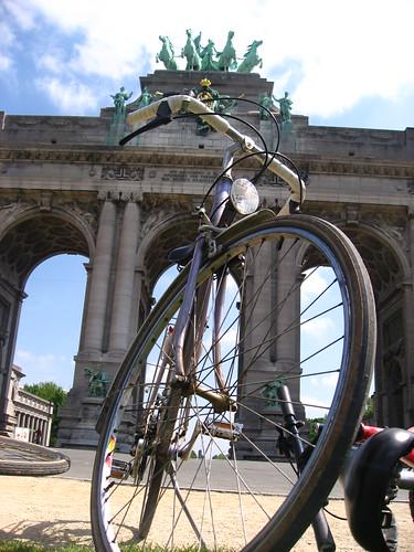 Vélo au Cinquantennaire