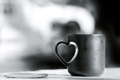 The love of coffee (Gilad Benari) Tags: morning blackandwhite bw art love glass coffee print poster handle israel different heart symbol steam mug worldcup heartshape morningcoffee   ilovemycoffee  giladbenari ilovemymorningcoffee lovesymbol  lovecup loveofcoffee artisticbw lovethemorning    theloveofcoffee