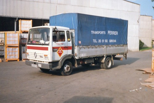 Renault de l'empresa TRANSPORTS JOAN FERRER de Girona