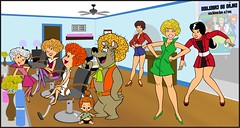 Hair Bear Boutique (slappy427) Tags: jonnyquest disney spaceghost scoobydoo 1970s taffy flintstones josieandthepussycats jetsons hairbear daisyduke muttley yogibear captaincaveman bettyrubble huckleberryhound fredflintstone barneyrubble hannabarbera johnnyquest topcat saturdaymorningcartoons wilmaflintstone snagglepuss hairbearbunch 1960s quickdrawmcgraw laffalympics pebblesandbammbamm dinoflintstone