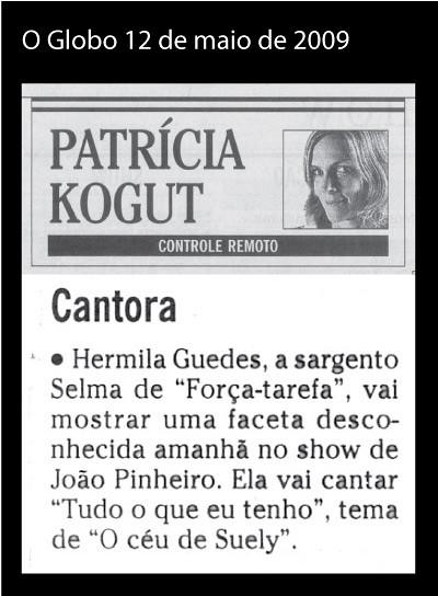 jornal o globo | coluna controle remoto by joao pinheiro