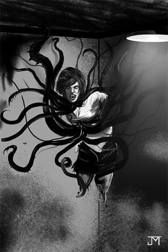 Vampire Demon Chick Thingy by Jason McLellan