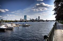 Boston in the Spring