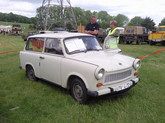 Trabant Estate (Trigger's Retro Road Tests!) Tags: estate photos essex 2009 colchester trabant rallye olde tyme aldham