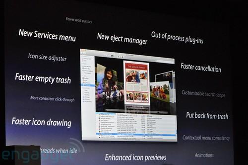WWDC Mac OS X Snow Leopard