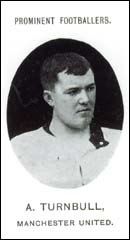Sandy Turnbull C1907 in change shirt
