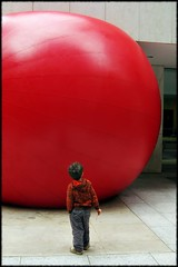 BIG (Now and Here) Tags: boy red sculpture toronto ontario canada art festival canon ball square wonder kid big fb arts large powershot size explore installation redball huge bmo kingstreet 1x1 fcp firstcanadianplace explore225 fave10 a570 a570is luminato kurtperschke fave25 nowandhere davidfarrant