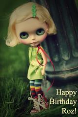 Happy Birthday Roz!!