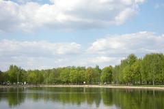 москва весна паркнаангарской майскиепраздники