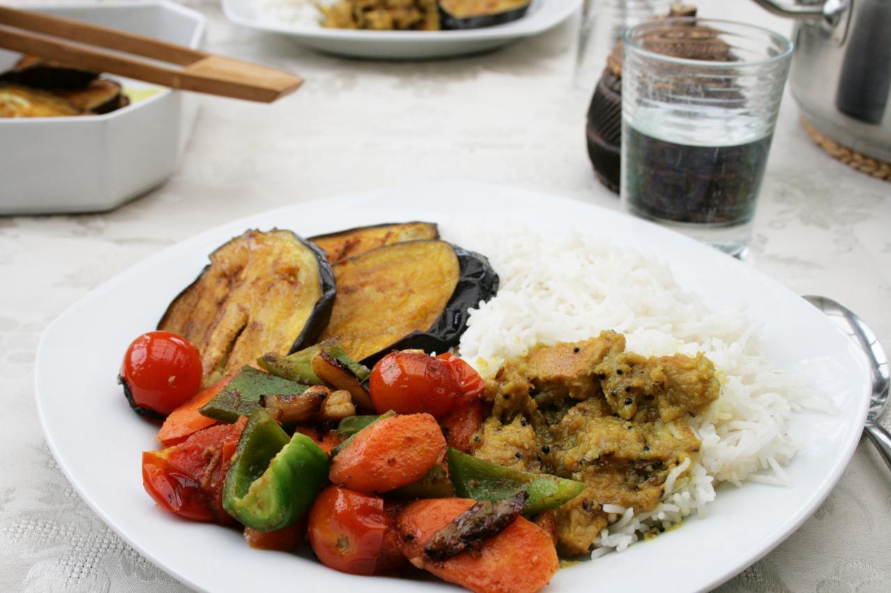 indisk måltid