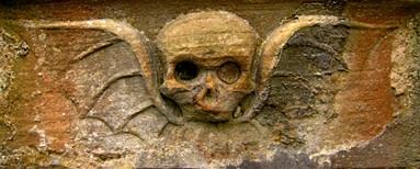tomb skull