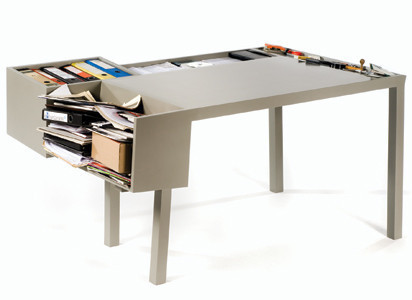 funky desk w/storage by Jacob Brinck