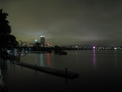Boston (historygradguy (jobhunting)) Tags: water boston night buildings river ma lights cityscape massachusetts charlesriver newengland winner thumbsup mass prudentialcenter pru bostonist thumbsupwinner