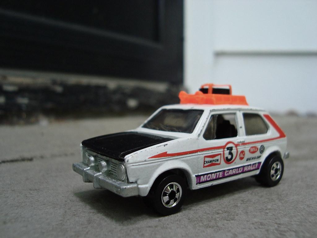 """""""Hare Splitter"""" - 1978 VW Rabbit Rally Car"""