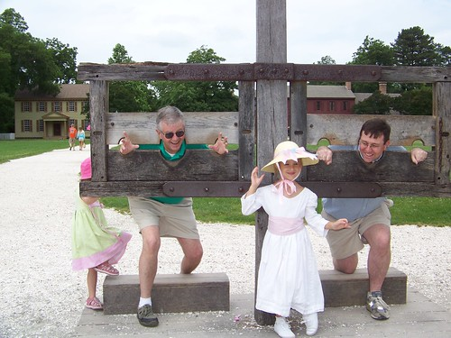 Papa & UnNu in the stocks