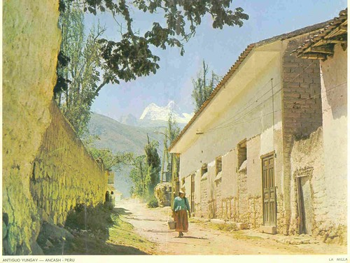 Traditional street in the 1960s