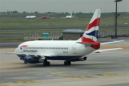 British Airways (Comair) 737-200 ZS-OLA