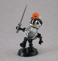 Robo Knight (Titolian) Tags: silly robot lego knight robo karf
