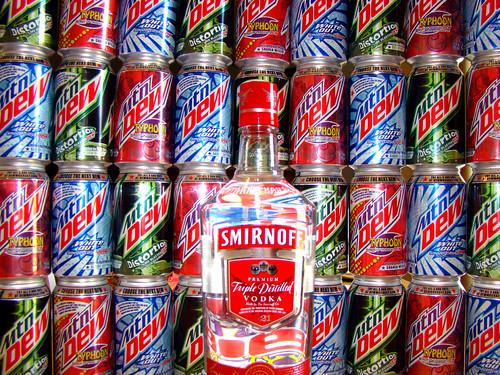 Mountain Dew + Vodka