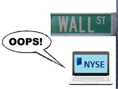Wall Street Trading Error?