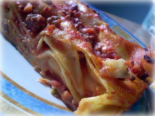 Pasta al forno- Lasagna con carne trita