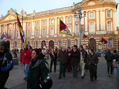 Manifestation pour le Tibet (Nirgal Ksi) Tags: tibet event toulouse manifestation placeducapitole