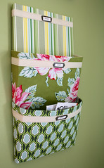 mailorganizerside (noodleheadsews) Tags: mail sewing organizer fabric heatherbailey metaltags twilltape niceyjane