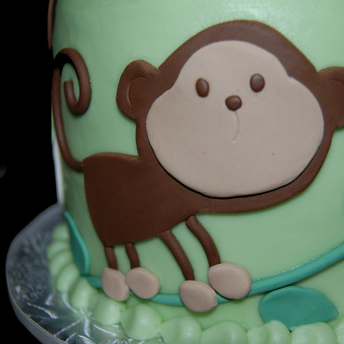 Monkey cupcake tower SNEAK PEAK