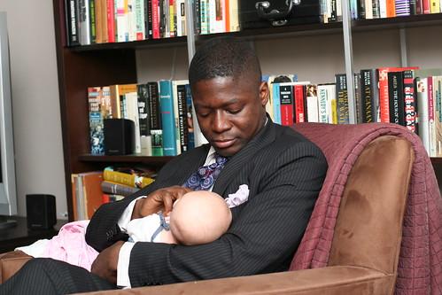 With Godfather Ekow