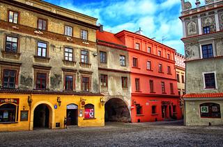Akwarelka czyli trochę kolorów bo dziś był zły dzień. Lublin, Poland February 2014