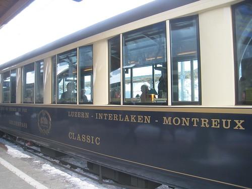 The Classic train car (1st class)