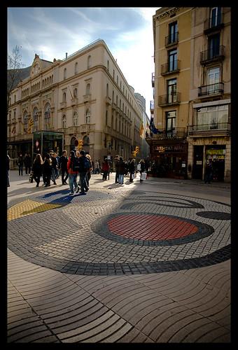 Miró, Ramblas, Liceu..........Barcelona by ENBOR.