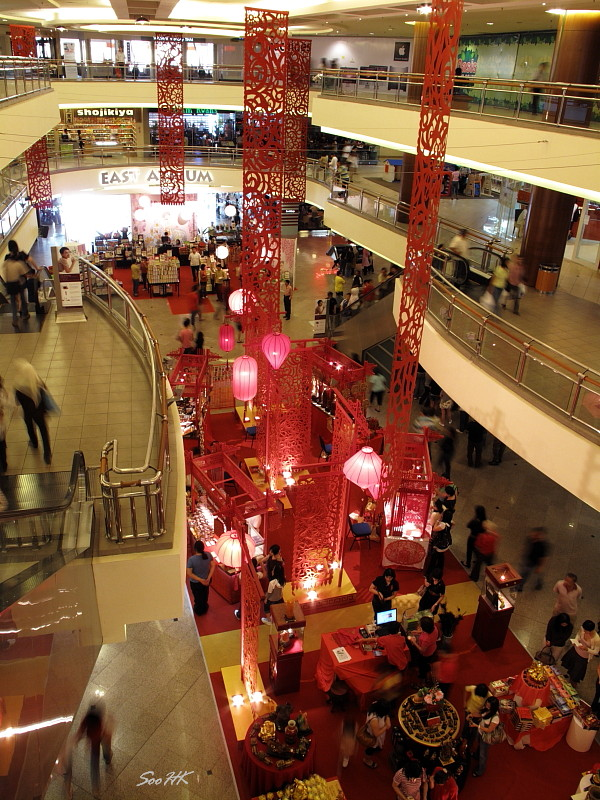 Chinese New Year Decoration @ MidValley, KL, Malaysia