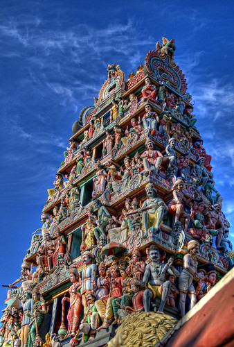 Hindu Temple - HDR