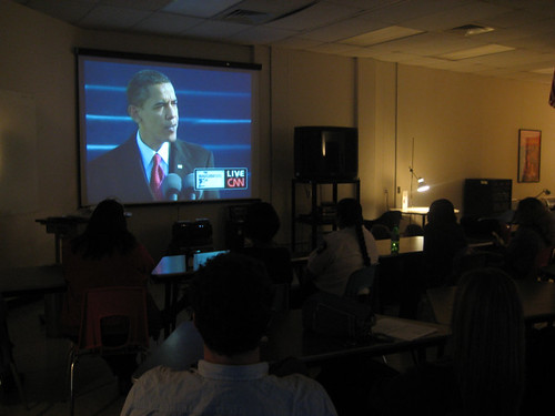 obama in class