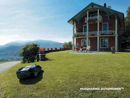 Husqvarna Automower by LauraMoncur from Flickr