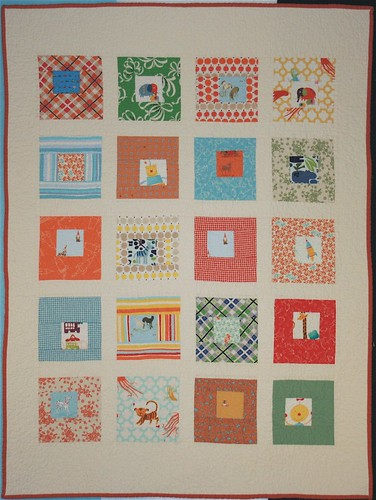 Sparks Baby Quilt