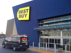 Wasted space on front of Best Buy