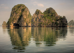 Halong Bay Reflected (trickyd3) Tags: